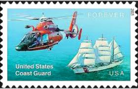 US Coast Guard stamp