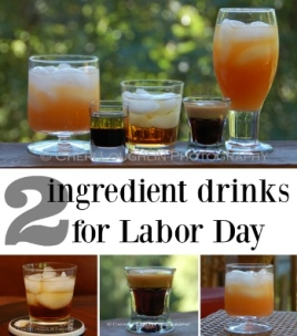 Two-Ingredient-Labor Day Drinks