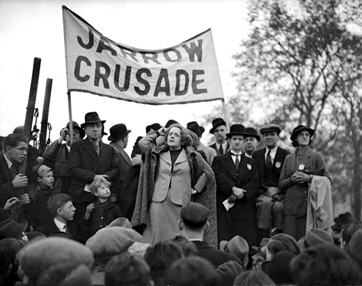 Jarrow Marchers in Hyde Park