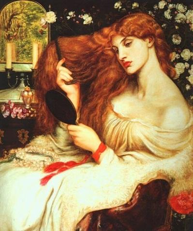 lady-lilith-dante-gabriel-rossetti