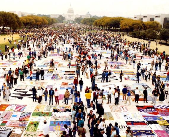 AIDS Quilt - Washington, DC 1987