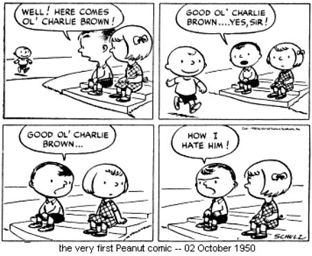 peanuts-first-strip-1950
