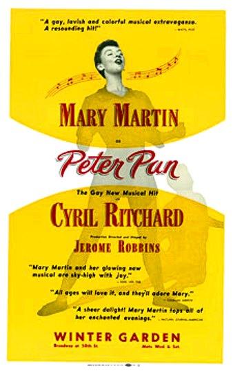 peter-pan-1954-broadway-poster