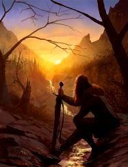 warrior-in-silhouette