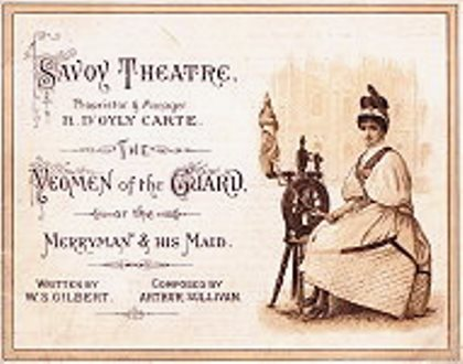 yeoman-of-the-guard-show-card-savoy-theatre