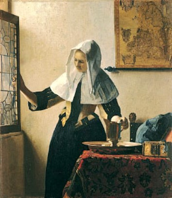 young-woman-with-a-water-pitcher-vermeer