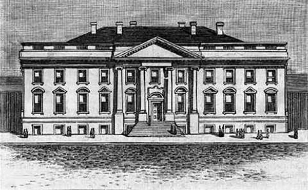 executive-mansion-etching-c-1800