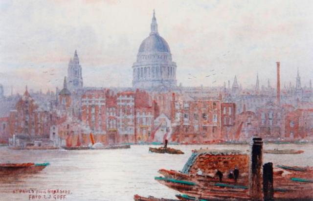 frederick_edward_joseph_goff_st_pauls_from_bankside