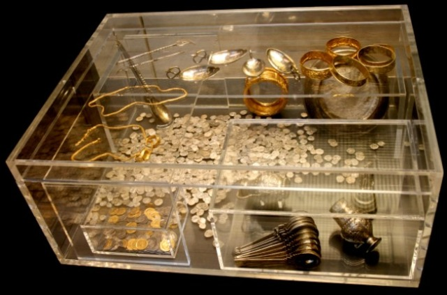 Hoxne Hoard treasure