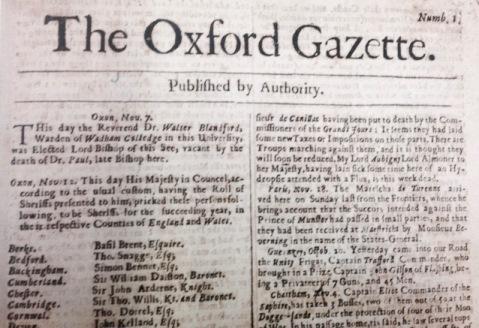 oxford-gazette-issue-1