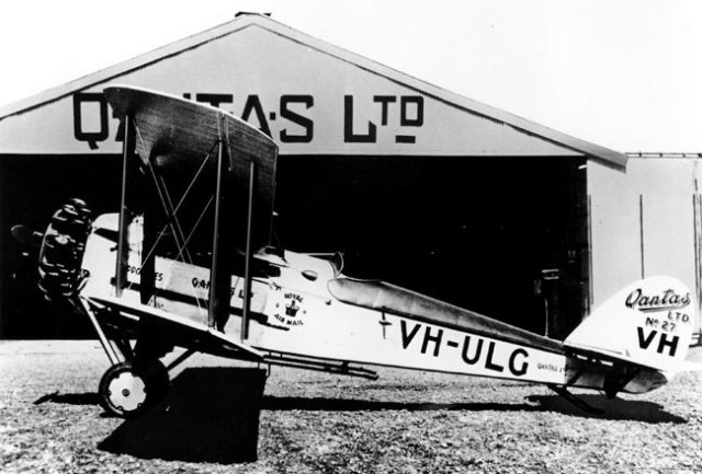 Fifty firsts number 33 QSA Item 435743 Qantas plane