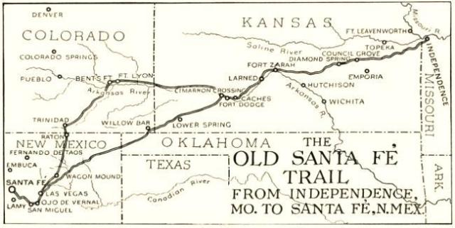 the-old-santa-fe-trail-map