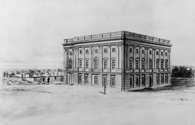 unfinished-capitol-building-in-1800