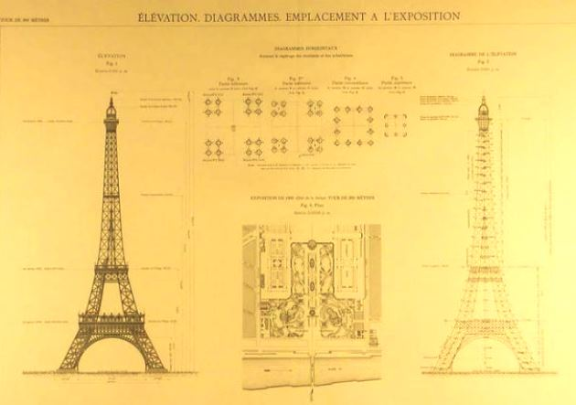 eiffel-tower-blueprint