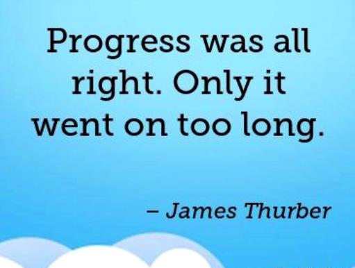 james-thurber-progress-quote