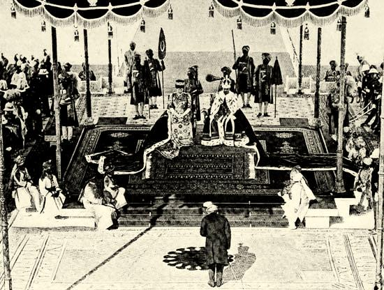 king-george-v-and-queen-mary-enthroned-as-emperor-and-empress-of-india