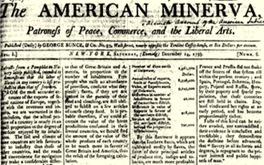 nyc-first-daily-newspaper-american-minerva-1793