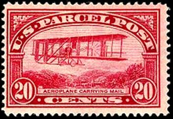 parcel_post_aeroplane_mail_20c_1913_issue