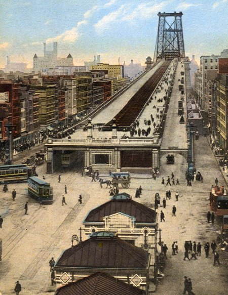 the-williamsburg-bridge-in-new-york-1903