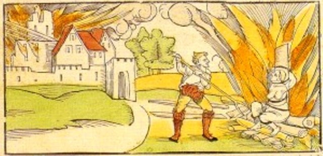 Witch burning in Schiltach, Germany (1533).jpg