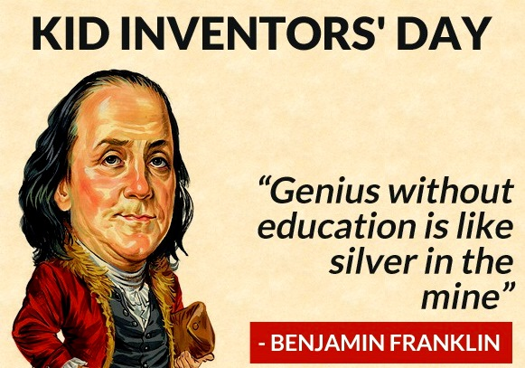 ben-franklin-kid-inventors-day