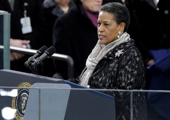 myrlie-evers-williams-delivers-invocation-at-second-inauguration-of-barak-obama