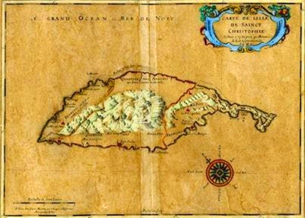 old-st-kitts-map