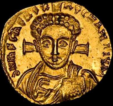 gold-solidus-coin-emperor-justinian-ii