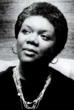 Lucille Clifton with necklace