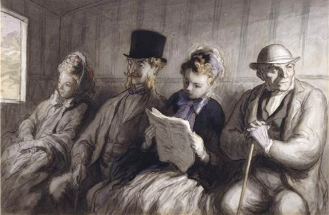 the_first_class_carriage-by-daumier