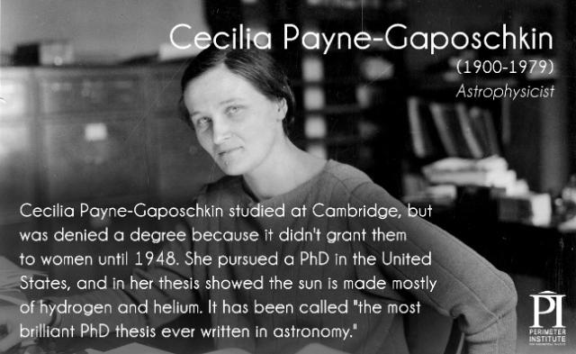 Payne-Gaposchkin, Cecilia () | Harvard Square Library