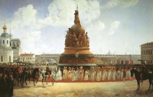 A Millennium of Russia-monument-novgorod