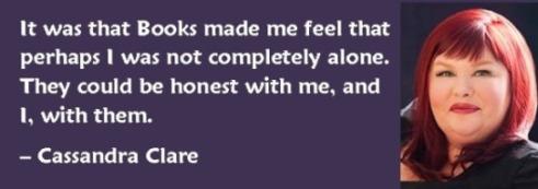 Cassandra Clare - Books quote